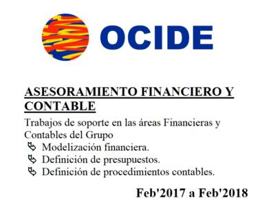 OCIDE Soporte Financiero y Contable