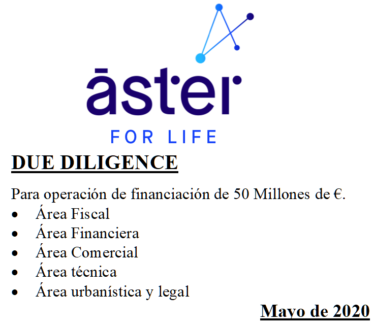 Aster Due Diligence